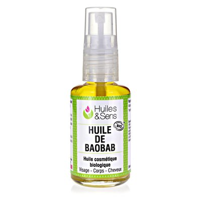 Baobab oil organic - Huiles & Sens - Massage and relaxation - Diy ingredients