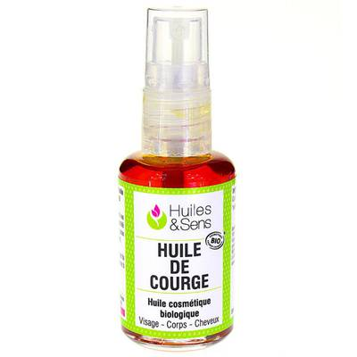 Pumpkin Seed oil (organic) - Huiles & Sens - Massage and relaxation
