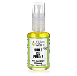 Plum kernel oil - Huiles & Sens - Massage and relaxation
