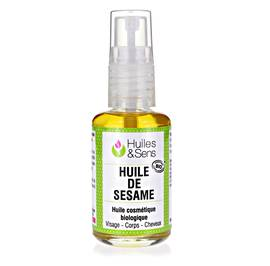 Sesame Oil (organic) - Huiles & Sens - Massage and relaxation