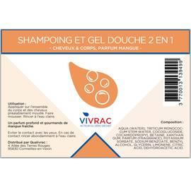 Shampoo and shower gel - Vivrac - Hygiene - Hair