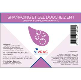 image produit Shampoo and shower gel