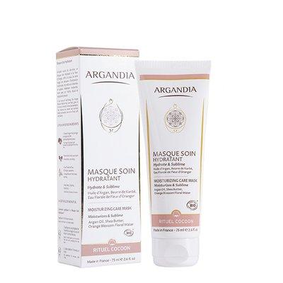 Masque Soin Hydratant, Fleur d'Oranger - Argandia - Visage