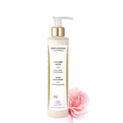 Argan Body Lotion Rose - Argandia - Body