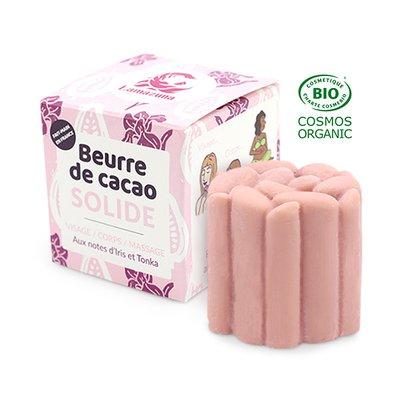 beurre de cacao rose solide - Lamazuna - Massage et détente - Corps