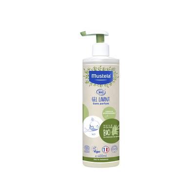 Gel lavant - 2en1 corps et cheveux - Mustela BB Bio - Cheveux - Bébé / Enfants