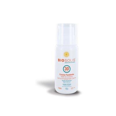 Crème Fondante solaire SPF30 - BIOSOLIS - Solaires
