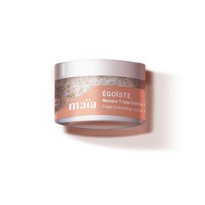 ÉGOÏSTE - Masque Triple Détox Gommant - AÏAM MAÏA - Visage