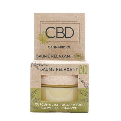 Baume CBD relaxant Bio - CBD - Massage et détente - Corps