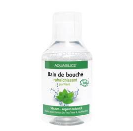 Bain de bouche Bio - Aquasilice - Hygiène