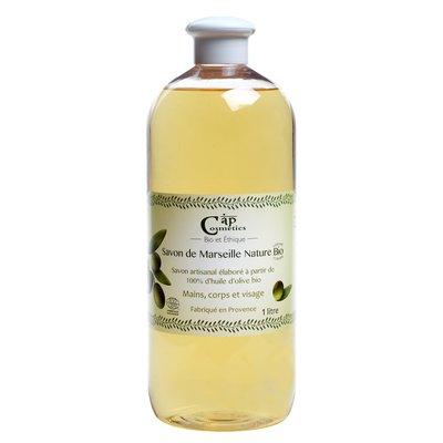 Savon de Marseille liquide nature - Cap Cosmetics - Hygiène