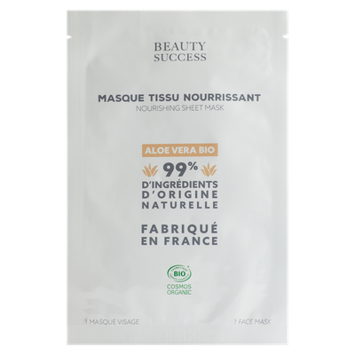 Masque Tissu Nourrissant - Beauty Success - Visage