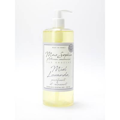 Savon liquide au miel et à la lavande - Mas Sophia - Hygiène