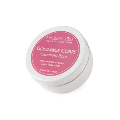 Gommage Corps - Géranium Rosa - Les Essentiels - Corps
