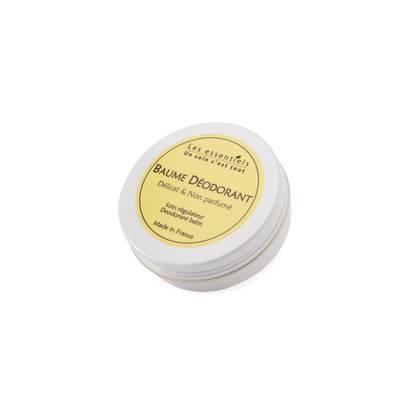 Baume Déodorant - Délicat & Non Parfumé - Les Essentiels - Hygiène