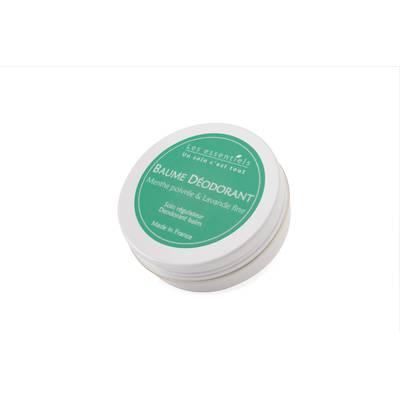 Baume déodorant - Menthe Poivrée & Lavande fine - Les Essentiels - Hygiène