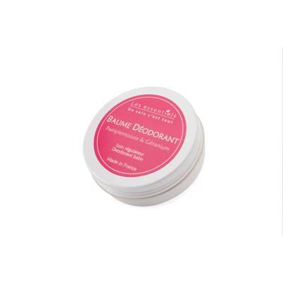 Baume déodorant - Pamplemousse & géranium Rosa - Les Essentiels - Hygiène