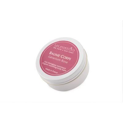 Baume corps nourrissant - Géranium rosa - Les Essentiels - Corps