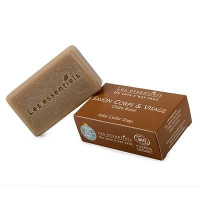 Savon cèdre - boisé - Les Essentiels - Hygiène
