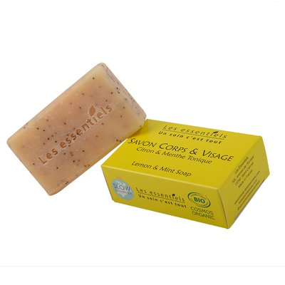 Mint and lemon soap - Les Essentiels - Hygiene