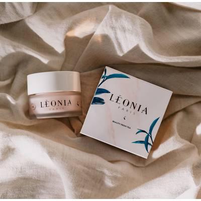 White Tea face moisturizer antioxidant brightening hydratation - Léonia - Face