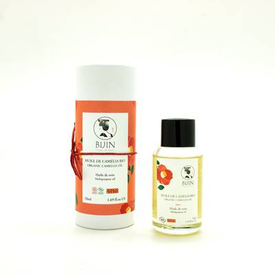 Camelia Oil - BIJIN - Face - Body - Hair - Massage and relaxation