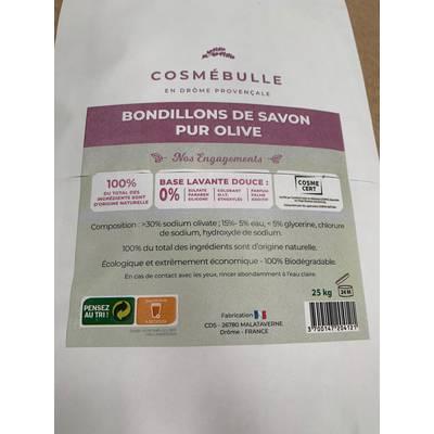 Bondillons de Savon pur Olive - cosmébulle - Ingrédients diy