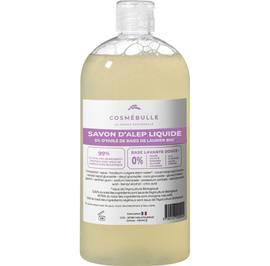 Savon liquide d'Alep 5% d'huile de baie de laurier - Cosmébulle - Hygiène