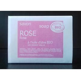 image produit Rose soap