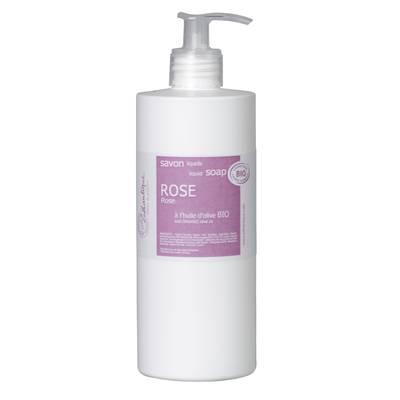 savon liquide rose - LOTHANTIQUE - Hygiène
