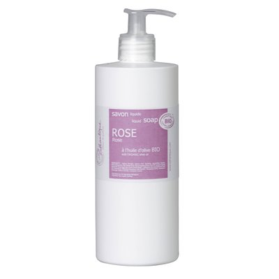 rose liquid soap - LOTHANTIQUE BIO - Hygiene