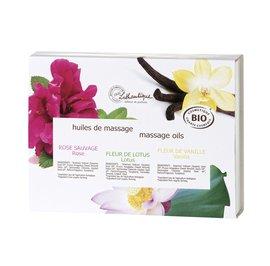 image produit 3 massage oils 30 ml