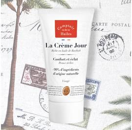 La Crème Jour - Comptoir des Huiles - Visage
