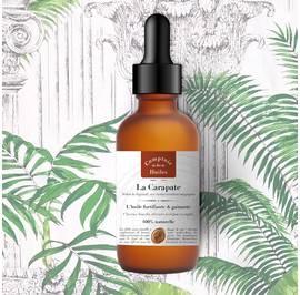 La Carapate - huile végétale - Comptoir des Huiles - Corps - Cheveux