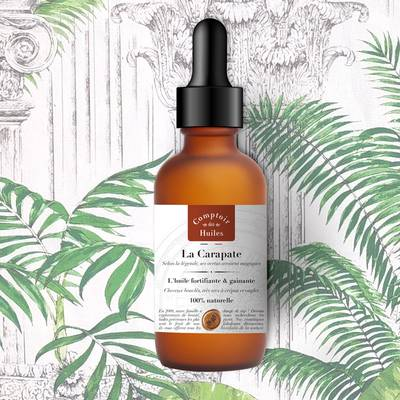 La Carapate - vegetable oil - Comptoir des Huiles - Body - Hair