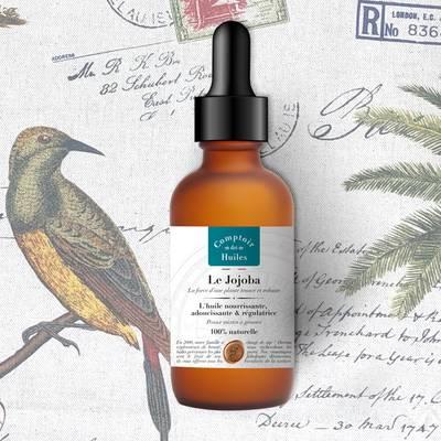 Le Jojoba - huile végétale - Comptoir des Huiles - Visage - Cheveux