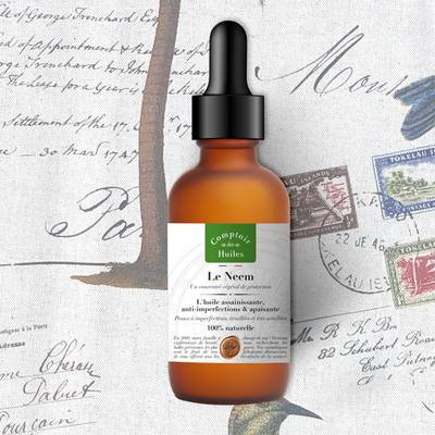 Le Neem - vegetable oil - Comptoir des Huiles - Face - Body - Hair