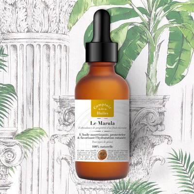 Le Marula - huile végétale - Comptoir des Huiles - Visage - Cheveux - Corps