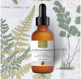 Le Moringa Drouhardii - huile végétale - Comptoir des Huiles - Visage - Corps - Cheveux