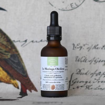 Le Moringa Oleifera - huile végétale - Comptoir des Huiles - Visage - Cheveux - Corps
