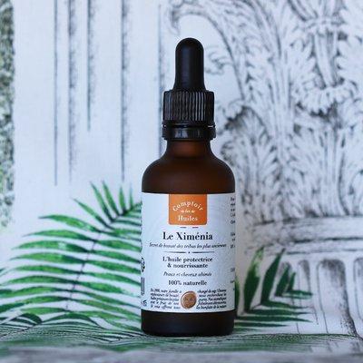 Le Ximénia - huile végétale - Comptoir des Huiles - Visage - Cheveux - Corps