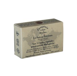"""Savon precieux"" soap with 11 precious vegetable oils from Madagascar - Comptoir des Huiles - Hygiene"