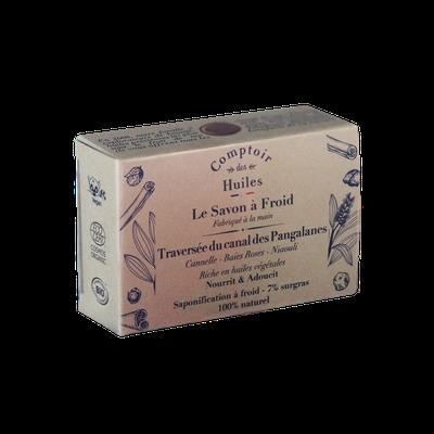 Cold process soap - Navigating the Pangalanes Canal - Comptoir des Huiles - Hygiene