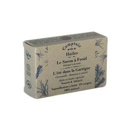 image produit Cold process soap - summer in the garrigue