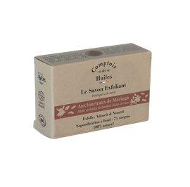 image produit Exfoliating soap with moringa husks