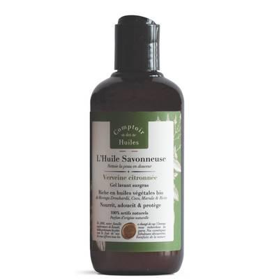 Huile Savonneuse - Shower oil - Lemon & Verbena - Comptoir des Huiles - Hygiene