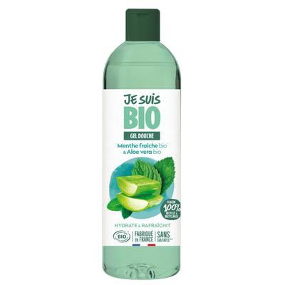Gel douche Menthe fraîche - Aloe Vera 250ml - JE SUIS BIO - Hygiène