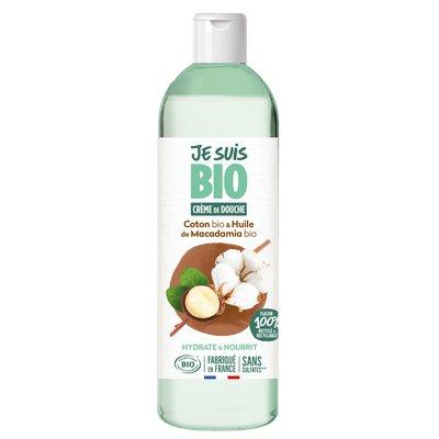 Crème de douche Coton - huile de Macadamia - JE SUIS BIO - Hygiène