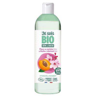 Crème de douche Fleur de Cerisier - Huile d'Abricot - JE SUIS BIO - Hygiène