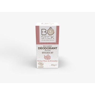 Recharge déodorant solide fleur de grenadier - BÔ - Hygiène
